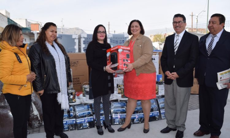 USNORTHCOM Donates to Three Women's Shelters in Ciudad Juarez