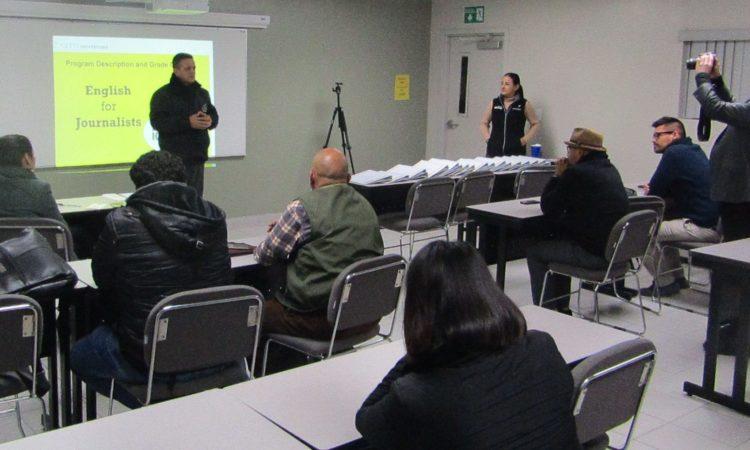 U.S. Consulate Tijuana supports local journalist with English Training