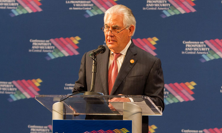 Secretary Tillerson Delivers Opening Remarks at Conference on Prosperity and Security in Central America in Miami