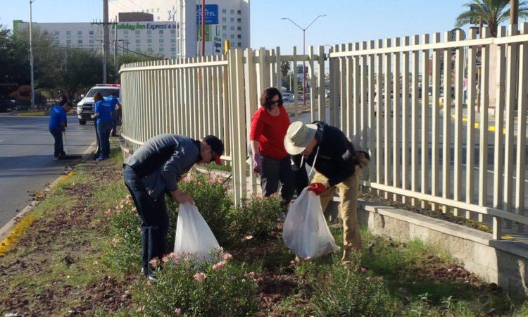 A Limpiar el Mundo Consulado Juárez