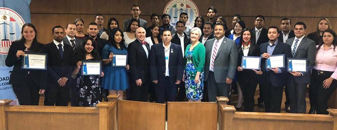 Curso sobre técnicas de litigación oral en Nuevo Laredo