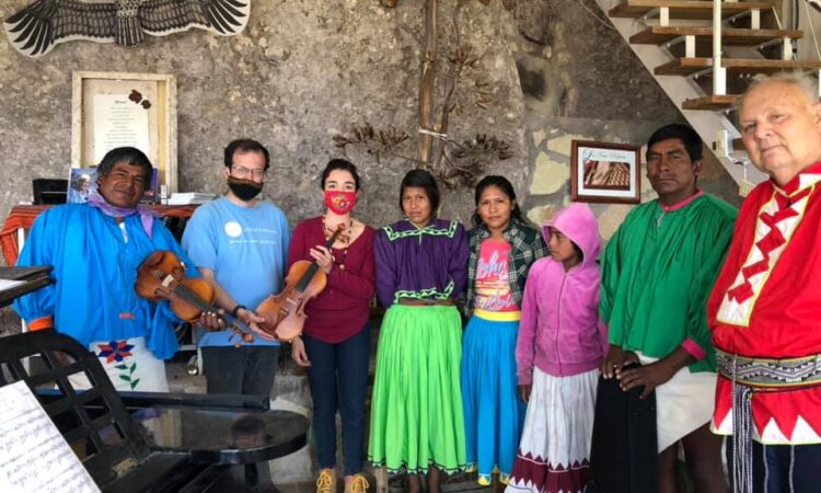 Cultures in Harmony offers violin classes to the community in Retosachi, Chihuahua