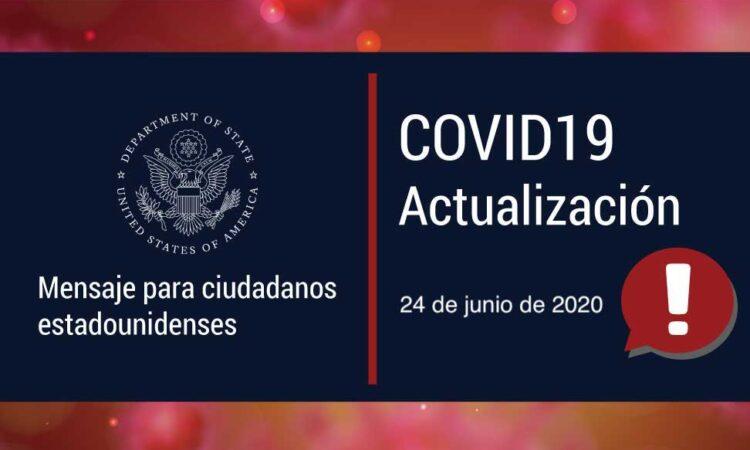Covid19 - 24 de junio de 2020