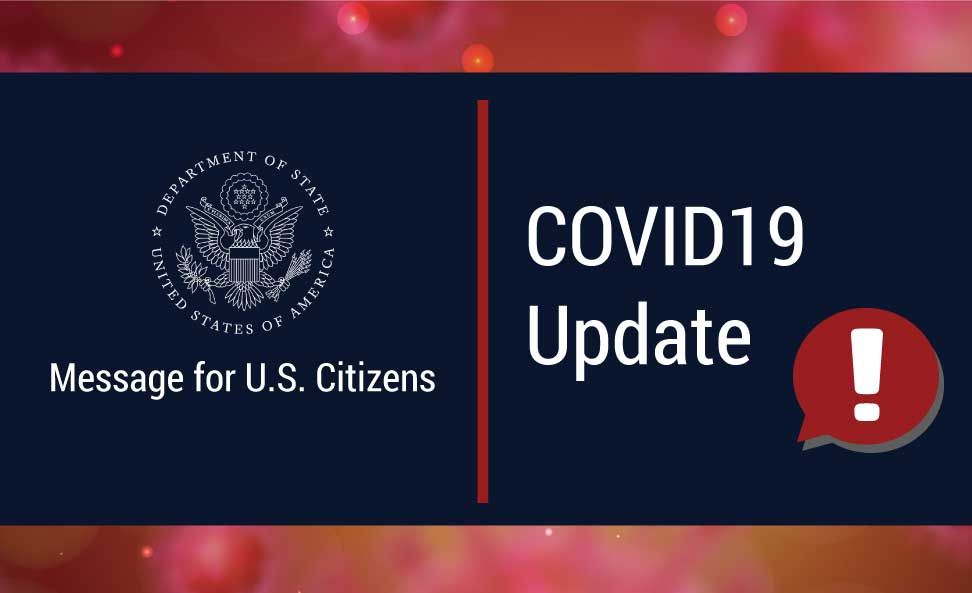 COVID-19 Information for U.S. Citizens in Mexico | U.S. Embassy &  Consulates in Mexico
