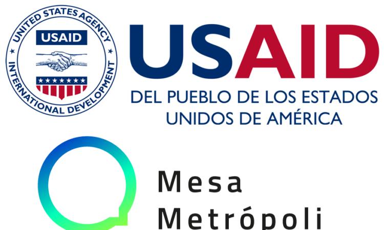 USAID Logo - Mesa Metropoli MTY