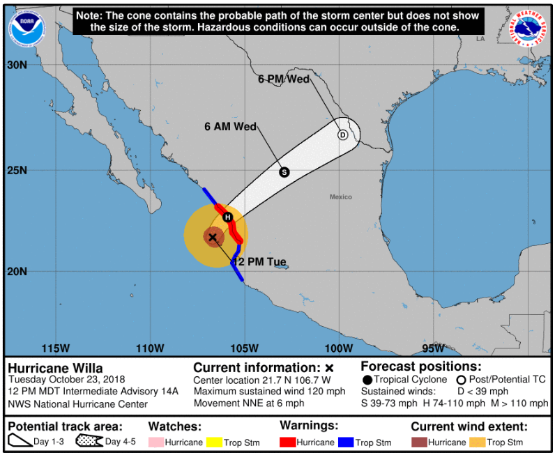 Weather Alert: U.S. Emby Mexico City | U.S. Emby & Consulates ... on