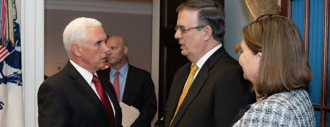 Resumen de la reunión entre el Vicepresidente Pence y el Secretario Marcelo Ebrard