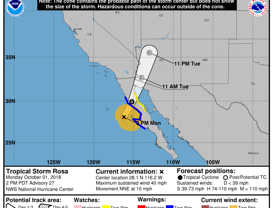 Weather Alert Us Consulate General Tijuana Mexico Tropical - Us-consulates-in-mexico-map