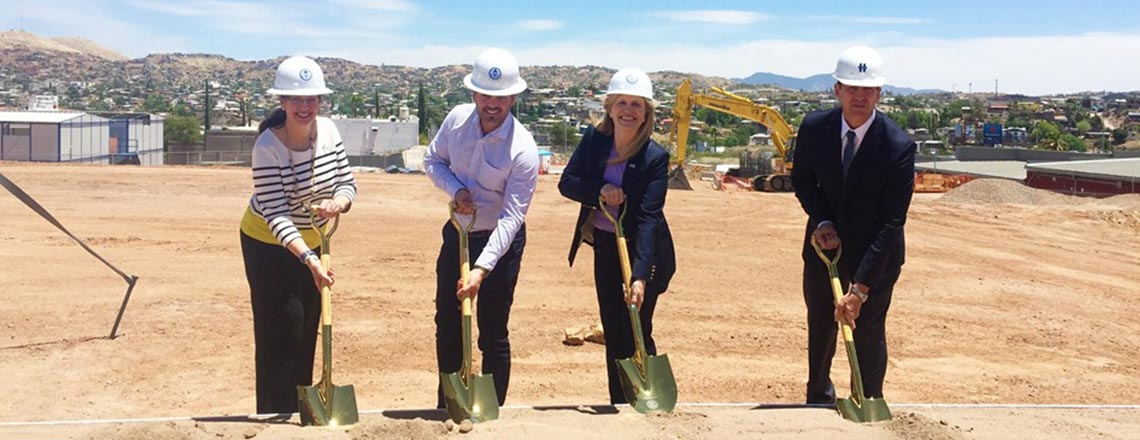 Groundbreaking Ceremony of the New U.S. Consulate General in Nogales