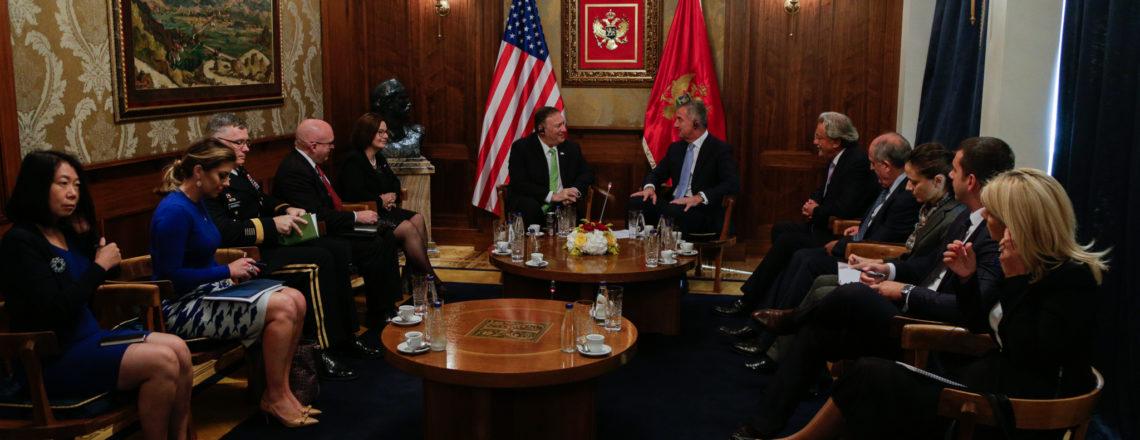 Secretary Pompeo Visits Montenegro