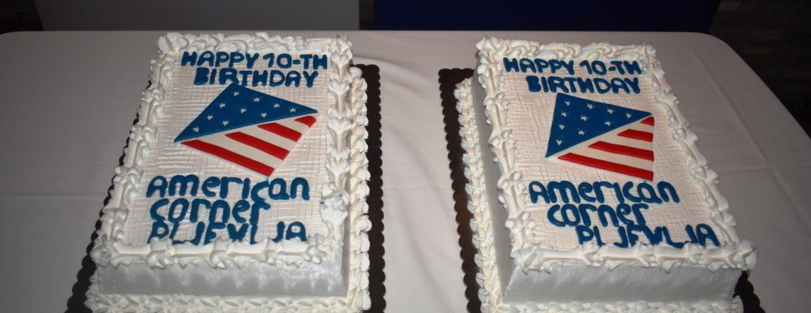 Ambasadorka Rajnke proslavila 10 godina Američkog ugla u Pljevljima
