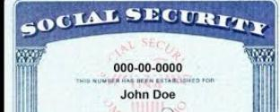 Social Security Number Example