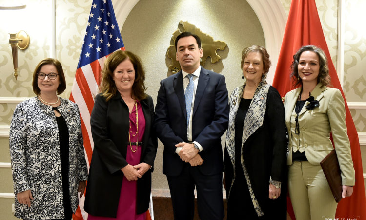 Peace Corps Director Jody Olsen signed a historic agreement with Montenegrin Deputy Prime Minister Zoran Pažin to establish a new Peace Corps program in Montenegro