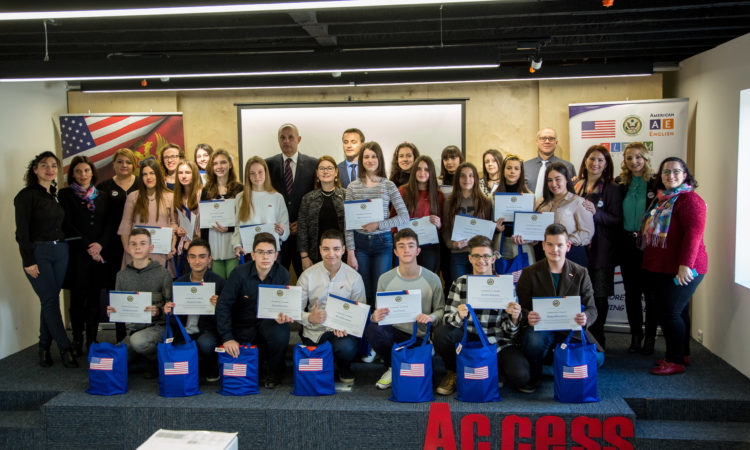 United States Embassy Launches English Access Program in Cetinje