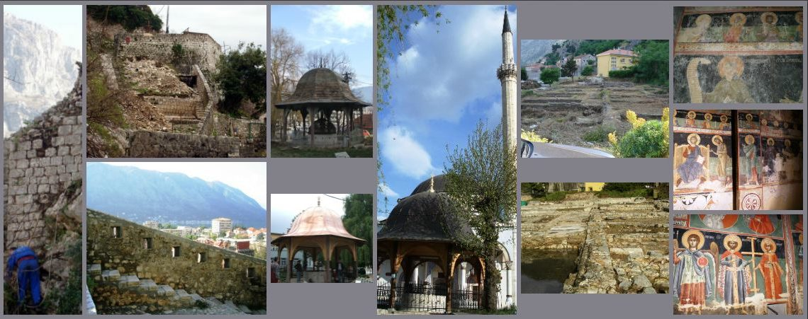 Collage of photos of projects done through AFCP