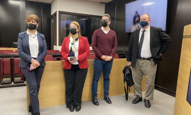 Ambasada SAD pomogla modernizaciju velike sudnice Osnovnog suda u Podgorici