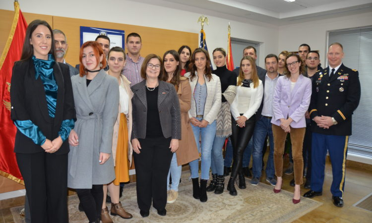 Embassy Hosts Top Youth Essay Writers on Euro-Atlantic Integration Benefits and Challenges