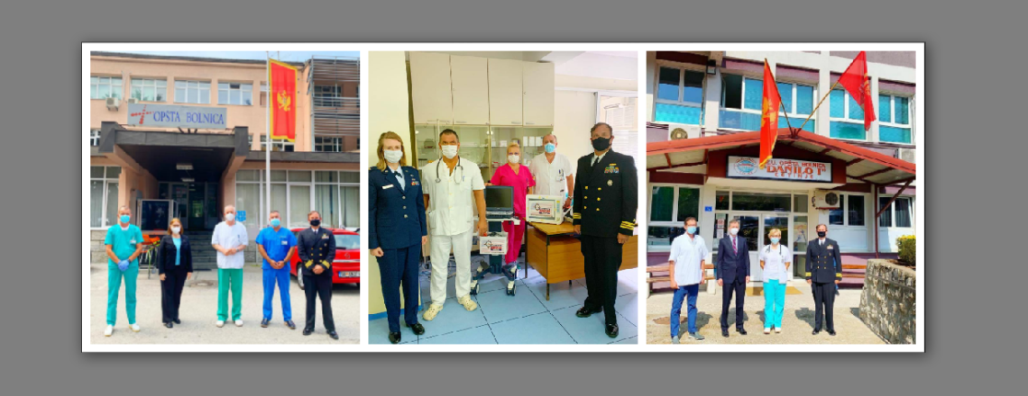 United States Continues To Support Montenegro During The COVID-19 Pandemic