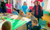 Ambassador Reinke Visits U.S. Funded Facilities for Children with Disabilities in Bijelo Polje
