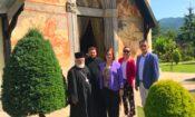 Ambassador Visit to Moraca Monestary