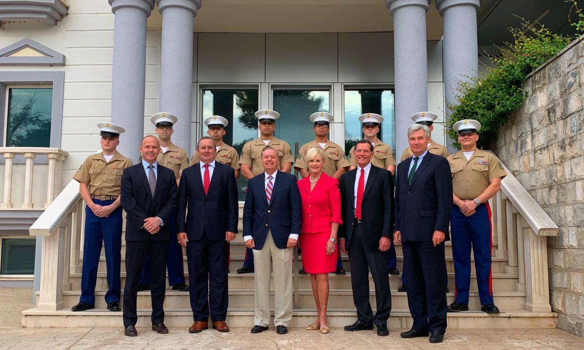 Codel Graham Visit To Montenegro