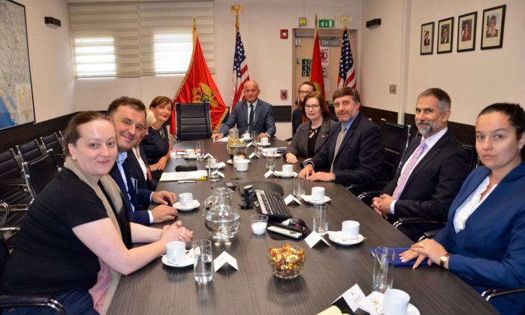 Deputy Assistant Secretary Matthew Palmer Visits Montenegro