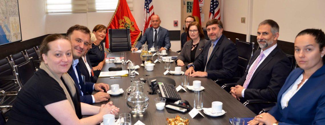 Zamjenik pomoćnika državnog sekretara Metju Palmer u posjeti Crnoj Gori