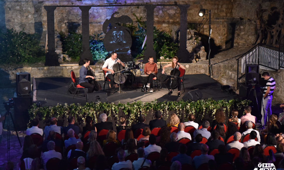 U.S. Embassy Podgorica hosted classical cello rock band Break of Reality
