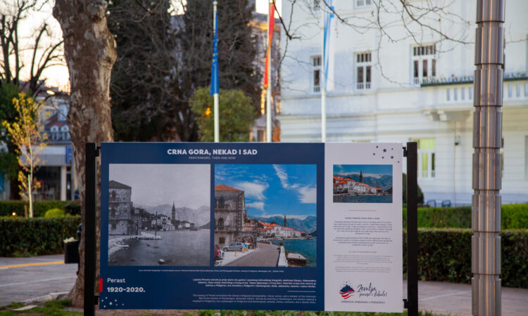 Exhibition about Historic American Red Cross Mission to Montenegro Highlights Longevity of Bilateral Relationship