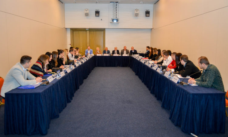 INL rainings for judicial trainees from the Montenegrin prosecution and courts