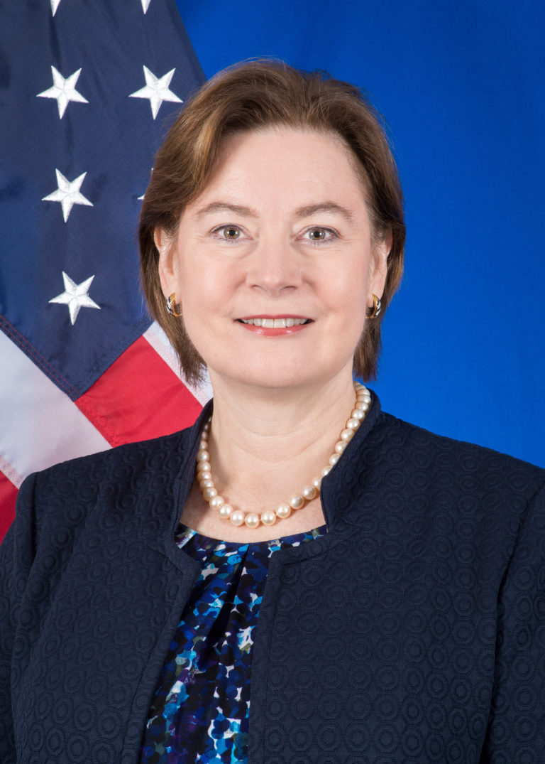 Photo of Ambassador Judy Rising Reinke