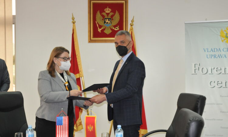 U.S. Embassy Donates Equipment to National Police Forensic Center4