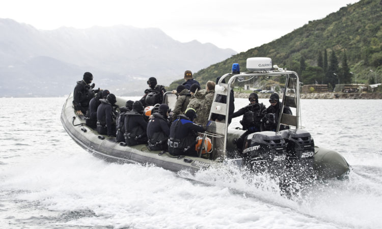 U.S. Special Operations Command completed training with Montenegro's specialized diving units5