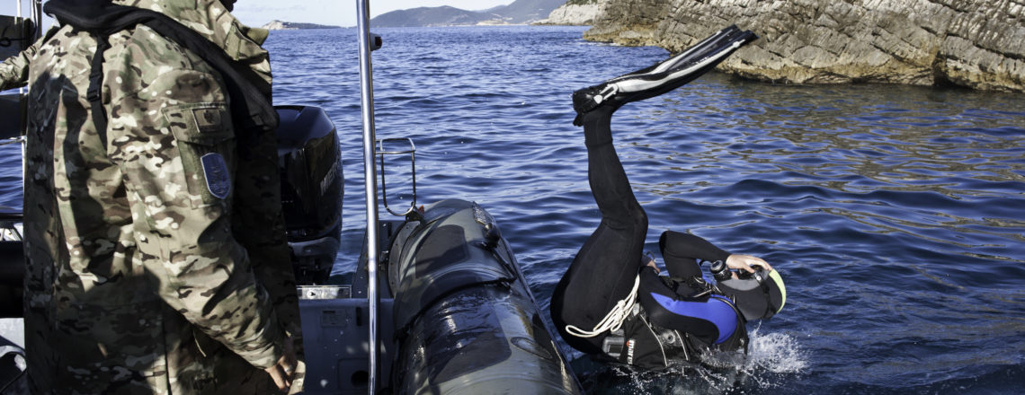 U.S. Special Operations Command Completed Training with Montenegro's Specialized Diving Un