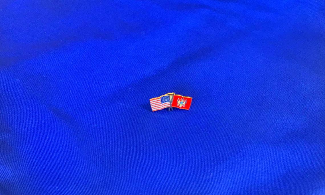 USA - MNE pin