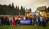 Zabljak_PAO Gallagher at opening of REACT_September 6 2019
