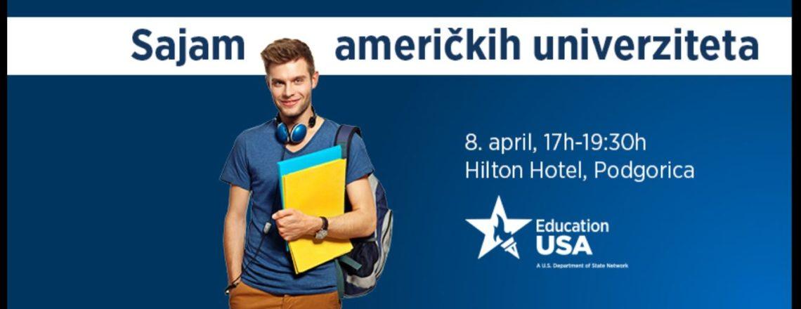 EducationUSA i Ambasada SAD u Podgorici organizuju Sajam američkih univerziteta