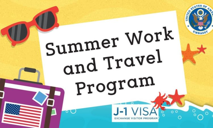 Summer Work Travel Poster