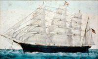 """19世纪时,这些""""快帆船""""曾在美国对华贸易中扮演着重要角色。(图片来源:LOC)"""