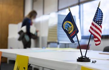 美国选民应该在哪里投票?