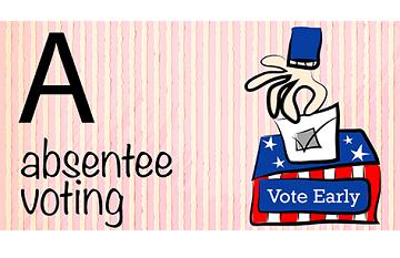 缺席投票 (Absentee voting )