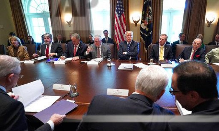 Remarks By President Trump Before Cabinet Meeting U S Embassy