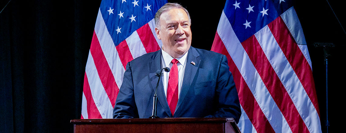 "Secretary Pompeo on ""The China Challenge"" at the Hudson Institute's Herman Kahn Award Gala"