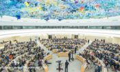 The Human Rights Council Geneva (file photo, May 2018)