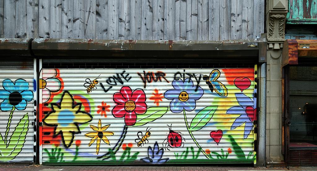 What is graffiti? Is it art? Is it vandalism?