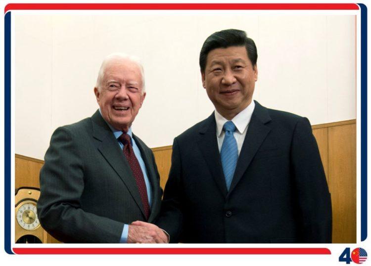 吉米·卡特访问中国