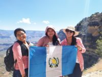 Caption: Miladys, Pascuala, and Eugenia during their visit to the United States as part of the SUSI scholarship.