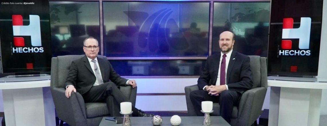 Entrevista del Embajador Popp en TV Azteca Guatemala