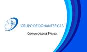 G13 COMUNICADO
