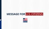 Message US citizens